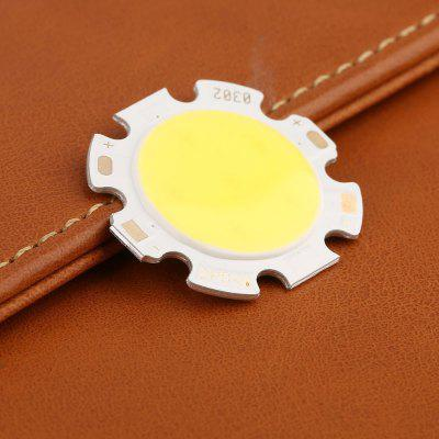 5PCS 3W-12W Pure White Round COB Super Bright LED SMD Chip Light source BoardLED Accessories<br>5PCS 3W-12W Pure White Round COB Super Bright LED SMD Chip Light source Board<br><br>Available Light Color: Warm White,Cold White<br>Beam Angle: 120<br>Body Material: Aluminum<br>Color Temperature: 3000-3500K ,6000-6500K<br>Current: 240--300uA<br>Luminous Surface: 20MM<br>Package Contents: 5 x COB Light Source Board<br>Package size (L x W x H): 5.00 x 5.00 x 0.10 cm / 1.97 x 1.97 x 0.04 inches<br>Package weight: 0.0100 kg<br>Power: 3W,10W,5W,7W,12W<br>Product size (L x W x H): 2.80 x 2.80 x 0.05 cm / 1.1 x 1.1 x 0.02 inches<br>Product weight: 0.0090 kg<br>Voltage: 3W:9-11V 5W:15-18V 7W:21-25V 10W:30-36V 12W:36-43V