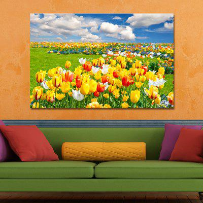 WPPWDXEN Photography Flowers Under the Blue Sky Print ArtPrints<br>WPPWDXEN Photography Flowers Under the Blue Sky Print Art<br><br>Brand: DYC<br>Craft: Print<br>Form: One Panel<br>Material: Canvas<br>Package Contents: 1 x Print<br>Package size (L x W x H): 45.00 x 6.00 x 6.00 cm / 17.72 x 2.36 x 2.36 inches<br>Package weight: 0.2000 kg<br>Painting: Without Inner Frame<br>Product size (L x W x H): 40.00 x 60.00 x 1.00 cm / 15.75 x 23.62 x 0.39 inches<br>Product weight: 0.1200 kg<br>Shape: Horizontal Panoramic<br>Style: Plant / Flower, Scenery / Landscape, Floral<br>Subjects: Flower<br>Suitable Space: Garden,Living Room,Bedroom,Dining Room,Office,Hotel,Study Room / Office