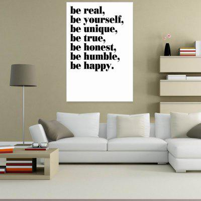 W254 Letters Unframed Wall Canvas Prints for Home Decoration burning guitar pattern unframed wall art canvas paintings