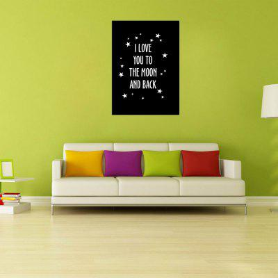 W264 Letters Frameless Wall Canvas Prints for Home DecorationPrints<br>W264 Letters Frameless Wall Canvas Prints for Home Decoration<br><br>Craft: Print<br>Form: One Panel<br>Material: Canvas<br>Package Contents: 1 x Print<br>Package size (L x W x H): 45.00 x 5.00 x 5.00 cm / 17.72 x 1.97 x 1.97 inches<br>Package weight: 0.0680 kg<br>Painting: Without Inner Frame<br>Product size (L x W x H): 40.00 x 56.00 x 1.00 cm / 15.75 x 22.05 x 0.39 inches<br>Product weight: 0.0630 kg<br>Shape: Vertical<br>Style: Modern Style, Artistic Style<br>Subjects: Letter<br>Suitable Space: Living Room,Bathroom,Bedroom,Dining Room,Office,Hotel,Cafes,Kids Room,Kids Room,Study Room / Office,Boys Room,Girls Room