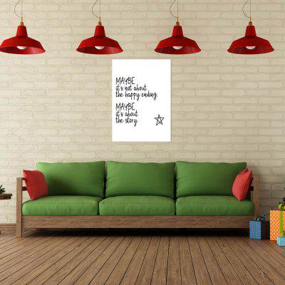 W267 Letters Unframed Wall Canvas Prints for Home DecorationPrints<br>W267 Letters Unframed Wall Canvas Prints for Home Decoration<br><br>Craft: Print<br>Form: One Panel<br>Material: Canvas<br>Package Contents: 1 x Print<br>Package size (L x W x H): 45.00 x 5.00 x 5.00 cm / 17.72 x 1.97 x 1.97 inches<br>Package weight: 0.0680 kg<br>Painting: Without Inner Frame<br>Product size (L x W x H): 40.00 x 56.00 x 1.00 cm / 15.75 x 22.05 x 0.39 inches<br>Product weight: 0.0630 kg<br>Shape: Vertical<br>Style: Modern Style, Artistic Style<br>Subjects: Letter<br>Suitable Space: Living Room,Bathroom,Bedroom,Dining Room,Office,Hotel,Cafes,Kids Room,Kids Room,Study Room / Office,Boys Room,Girls Room