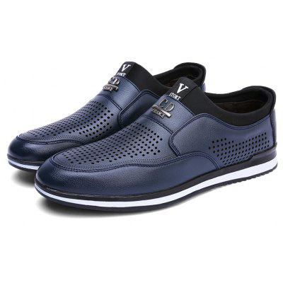 Men Summer Breathable Business Work Casual ShoesMen's Oxford<br>Men Summer Breathable Business Work Casual Shoes<br><br>Available Size: 39 40 41 42 43 44<br>Closure Type: Slip-On<br>Embellishment: Hollow Out<br>Gender: For Men<br>Occasion: Dress<br>Outsole Material: Rubber<br>Package Contents: 1xShoes(pair)<br>Pattern Type: Solid<br>Season: Summer, Spring/Fall<br>Toe Shape: Round Toe<br>Toe Style: Closed Toe<br>Upper Material: Genuine Leather<br>Weight: 1.2000kg