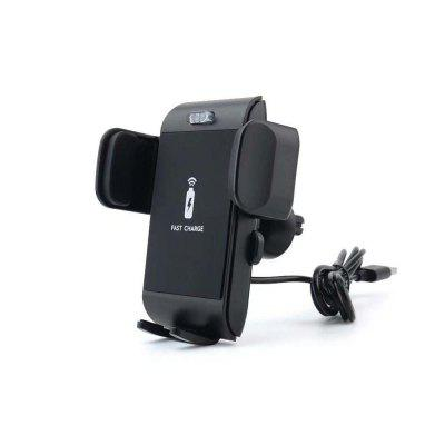 Qi Wireless Car Fast Charging Mount Holder for iPhone X 8 7 6 SamsungChargers &amp; Cables<br>Qi Wireless Car Fast Charging Mount Holder for iPhone X 8 7 6 Samsung<br><br>Color: Black<br>Package Contents: 1 x Fast Car Charger, 1 x Data Cable, 1 x   Box<br>Package size (L x W x H): 40.00 x 36.50 x 53.00 cm / 15.75 x 14.37 x 20.87 inches<br>Package weight: 0.9000 kg<br>Product size (L x W x H): 11.50 x 7.00 x 14.00 cm / 4.53 x 2.76 x 5.51 inches<br>Product weight: 0.8500 kg