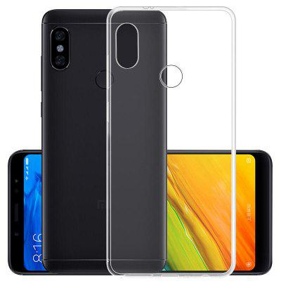 for Xiaomi Redmi Note 5 Pro TUP Transparent Phone CaseCases &amp; Leather<br>for Xiaomi Redmi Note 5 Pro TUP Transparent Phone Case<br><br>Mainly Compatible with: Xiaomi<br>Package Contents: 1 x Phone Case<br>Package size (L x W x H): 17.00 x 9.00 x 1.50 cm / 6.69 x 3.54 x 0.59 inches<br>Package weight: 0.0190 kg<br>Product Size(L x W x H): 16.20 x 8.00 x 1.00 cm / 6.38 x 3.15 x 0.39 inches<br>Product weight: 0.0180 kg
