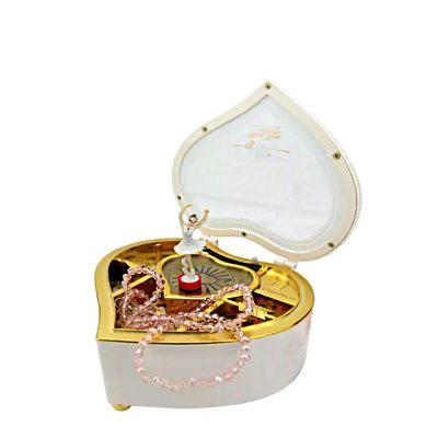 Heart-shaped Ballet Rotary Romantic Fashion Creative Music BoxKids Musical Instrument<br>Heart-shaped Ballet Rotary Romantic Fashion Creative Music Box<br><br>Gender: Unisex<br>Materials: Plastic<br>Nature: Other<br>Package Contents: 1 x Music Box<br>Package size: 18.50 x 19.20 x 8.50 cm / 7.28 x 7.56 x 3.35 inches<br>Package weight: 0.6800 kg<br>Product size: 16.50 x 17.20 x 6.50 cm / 6.5 x 6.77 x 2.56 inches<br>Product weight: 0.6300 kg<br>Type: Infant Playing Type