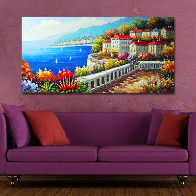 FJ0013 A Village on the Coast Print ArtPrints<br>FJ0013 A Village on the Coast Print Art<br><br>Brand: DYC<br>Craft: Print<br>Form: One Panel<br>Material: Canvas<br>Package Contents: 1 x Print<br>Package size (L x W x H): 45.00 x 6.00 x 6.00 cm / 17.72 x 2.36 x 2.36 inches<br>Package weight: 0.2200 kg<br>Painting: Without Inner Frame<br>Product size (L x W x H): 40.00 x 80.00 x 1.00 cm / 15.75 x 31.5 x 0.39 inches<br>Product weight: 0.1500 kg<br>Shape: Horizontal Panoramic<br>Style: Scenery / Landscape, Plant / Flower, Fresh / Rural, Natural, Plant, Floral, Glamorous/Dramatic<br>Subjects: Landscape<br>Suitable Space: Garden,Living Room,Bedroom,Dining Room,Office,Hotel,Study Room / Office