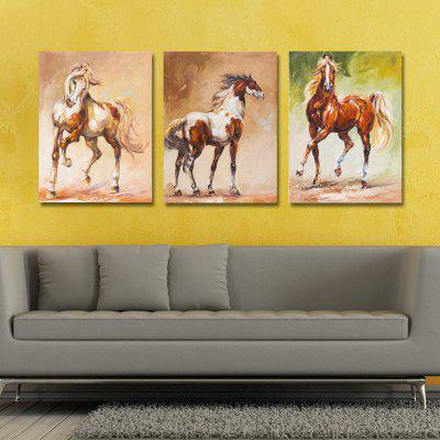 DW2401 - 31-32-40 3PCS A Running Horse Print ArtPrints<br>DW2401 - 31-32-40 3PCS A Running Horse Print Art<br><br>Brand: DYC<br>Craft: Print<br>Form: Three Panels<br>Material: Canvas<br>Package Contents: 3 x Prints<br>Package size (L x W x H): 35.00 x 6.00 x 6.00 cm / 13.78 x 2.36 x 2.36 inches<br>Package weight: 0.1800 kg<br>Painting: Without Inner Frame<br>Product size (L x W x H): 30.00 x 40.00 x 3.00 cm / 11.81 x 15.75 x 1.18 inches<br>Product weight: 0.1200 kg<br>Shape: Vertical<br>Style: Cartoon, Lovely, Vintage<br>Subjects: Cartoon<br>Suitable Space: Garden,Living Room,Office,Hotel,Study Room / Office