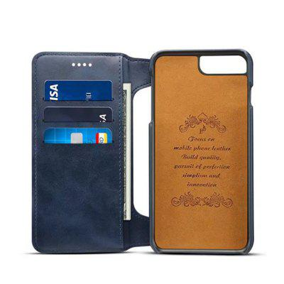 for iPhone  8 Plus / 7 Plus Case Detachable Wallet Back Cover with Card SlotsiPhone Cases/Covers<br>for iPhone  8 Plus / 7 Plus Case Detachable Wallet Back Cover with Card Slots<br><br>Compatible for Apple: iPhone 7 Plus, iPhone 8 Plus<br>Features: Cases with Stand, With Credit Card Holder<br>Material: PU Leather, TPU<br>Package Contents: 1 x Phone Case<br>Package size (L x W x H): 20.00 x 12.00 x 4.00 cm / 7.87 x 4.72 x 1.57 inches<br>Package weight: 0.1000 kg<br>Product size (L x W x H): 16.00 x 9.00 x 2.00 cm / 6.3 x 3.54 x 0.79 inches<br>Product weight: 0.0500 kg<br>Style: Vintage
