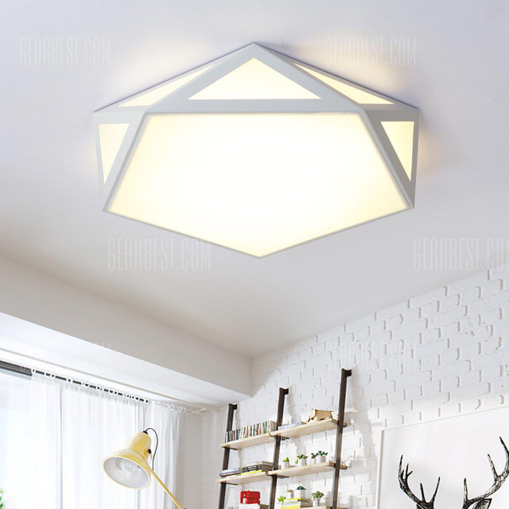 JX7737 - 36W - 3S Three Color Conversion Simple Ceiling Light