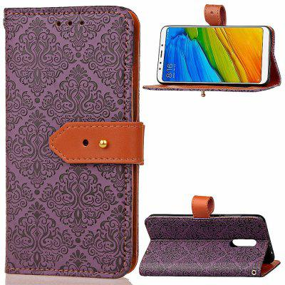 Luxury PU Leather Wallet Cover Case for Xiaomi Redmi 5Cases &amp; Leather<br>Luxury PU Leather Wallet Cover Case for Xiaomi Redmi 5<br><br>Compatible Model: Xiaomi Redmi 5<br>Features: Anti-knock<br>Mainly Compatible with: Xiaomi<br>Material: PU Leather, TPU<br>Package Contents: 1 x Phone Case<br>Package size (L x W x H): 16.00 x 8.00 x 1.80 cm / 6.3 x 3.15 x 0.71 inches<br>Package weight: 0.0700 kg<br>Product Size(L x W x H): 15.00 x 7.50 x 1.80 cm / 5.91 x 2.95 x 0.71 inches<br>Product weight: 0.0680 kg<br>Style: Vintage/Nostalgic Euramerican Style, Special Design