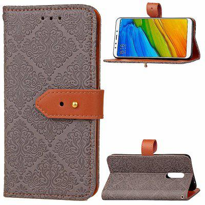 Luxury PU Leather Wallet Cover Case for Xiaomi Redmi 5 PlusCases &amp; Leather<br>Luxury PU Leather Wallet Cover Case for Xiaomi Redmi 5 Plus<br><br>Compatible Model: Xiaomi Redmi 5 Plus<br>Features: Anti-knock<br>Mainly Compatible with: Xiaomi<br>Material: PU Leather, TPU<br>Package Contents: 1 x Phone Case<br>Package size (L x W x H): 16.50 x 8.50 x 1.80 cm / 6.5 x 3.35 x 0.71 inches<br>Package weight: 0.0750 kg<br>Product Size(L x W x H): 16.00 x 8.00 x 1.80 cm / 6.3 x 3.15 x 0.71 inches<br>Product weight: 0.0700 kg<br>Style: Vintage/Nostalgic Euramerican Style, Special Design