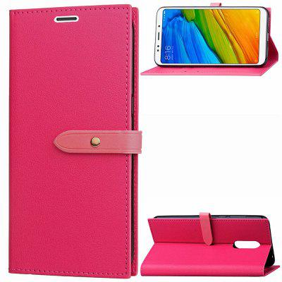 Luxury PU Leather Flip Wallet Cover Case for Xiaomi Redmi 5 PlusCases &amp; Leather<br>Luxury PU Leather Flip Wallet Cover Case for Xiaomi Redmi 5 Plus<br><br>Compatible Model: Xiaomi Redmi 5 Plus<br>Features: Anti-knock<br>Mainly Compatible with: Xiaomi<br>Material: PU Leather, TPU<br>Package Contents: 1 x Phone Case<br>Package size (L x W x H): 16.50 x 8.50 x 1.80 cm / 6.5 x 3.35 x 0.71 inches<br>Package weight: 0.0750 kg<br>Product Size(L x W x H): 16.00 x 8.00 x 1.80 cm / 6.3 x 3.15 x 0.71 inches<br>Product weight: 0.0700 kg<br>Style: Special Design