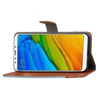 Color Collision PU Leather Flip Wallet Cover Case for Xiaomi Redmi 5Cases &amp; Leather<br>Color Collision PU Leather Flip Wallet Cover Case for Xiaomi Redmi 5<br><br>Compatible Model: Xiaomi Redmi 5<br>Features: Anti-knock<br>Mainly Compatible with: Xiaomi<br>Material: PU Leather, TPU<br>Package Contents: 1 x Phone Case<br>Package size (L x W x H): 16.00 x 8.00 x 1.80 cm / 6.3 x 3.15 x 0.71 inches<br>Package weight: 0.0680 kg<br>Product Size(L x W x H): 15.00 x 7.50 x 1.80 cm / 5.91 x 2.95 x 0.71 inches<br>Product weight: 0.0650 kg<br>Style: Contrast Color, Special Design