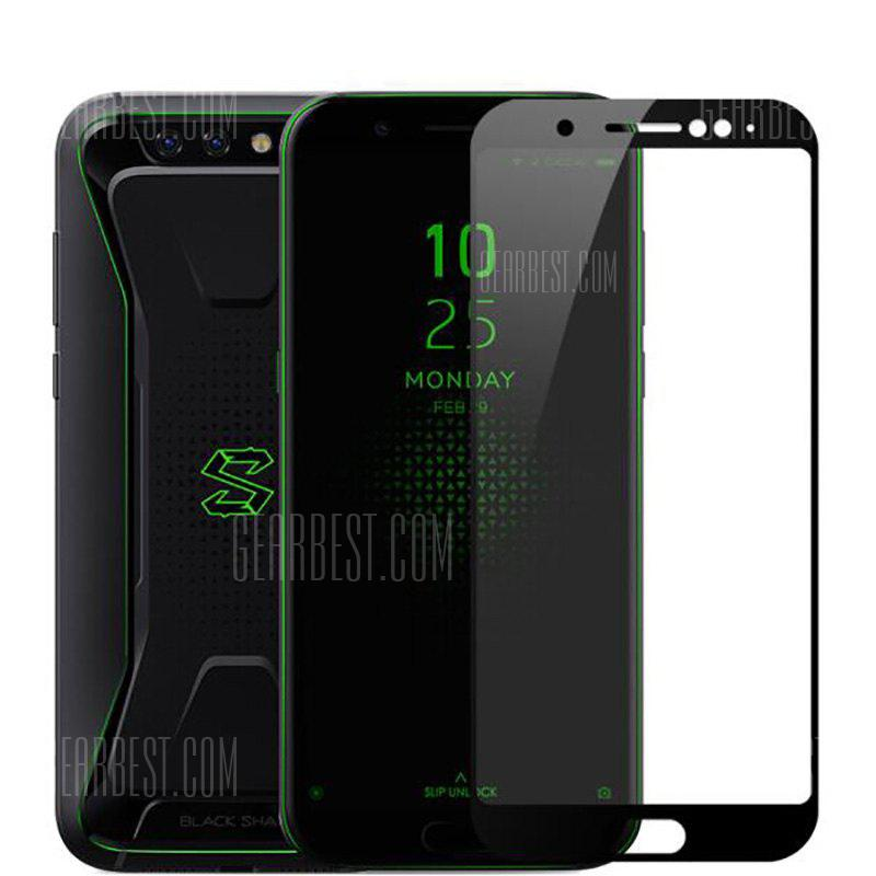 Tempered Glass Full Cover Screen Protector for Xiaomi Black Shark Gaming Phone