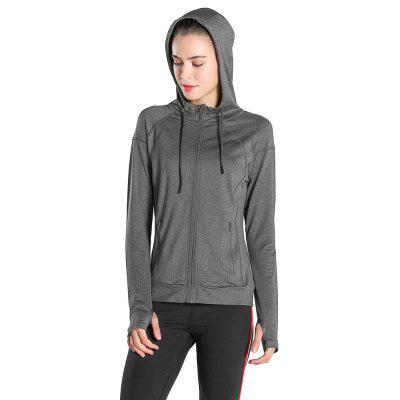 Spring and Summer New SportsLadies Outdoor Running Zipper JacketJackets &amp; Coats<br>Spring and Summer New SportsLadies Outdoor Running Zipper Jacket<br><br>Elasticity: Elastic<br>Fabric Type: Worsted<br>Material: Spandex<br>Package Contents: 1 x clothes<br>Pattern Style: Solid<br>Shirt Length: Long<br>Sleeve Length: Full<br>Style: Active<br>Weight: 0.4500kg