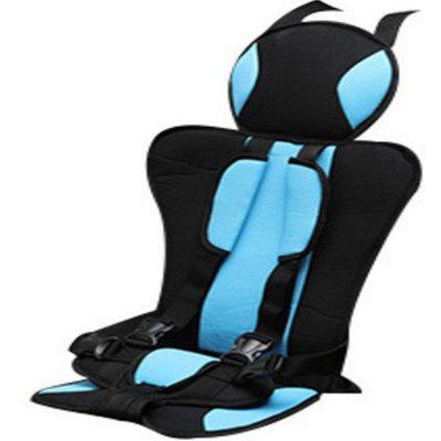 New Breathable  Wearable Car Child SeatCar Seat Cushion<br>New Breathable  Wearable Car Child Seat<br><br>Color: Black<br>Material: Polyester, PP Cotton<br>Package Contents: 1 x Seat<br>Package size (L x W x H): 55.00 x 40.00 x 10.00 cm / 21.65 x 15.75 x 3.94 inches<br>Package weight: 0.5500 kg<br>Product weight: 0.4500 kg<br>Special function: Protect children<br>Type: Cushions And Pillows