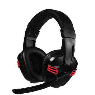 Gaming Headphones Computer USB 7.1 Surround Sound HeadsetGaming Headphones<br>Gaming Headphones Computer USB 7.1 Surround Sound Headset<br><br>Application: Gaming<br>Compatible with: Computer, PC<br>Connecting interface: USB<br>Connectivity: Wired<br>Frequency response: 20-20000Hz<br>Function: Noise Cancelling, HiFi<br>Material: ABS<br>Package Contents: 1 x Headset<br>Package size (L x W x H): 10.00 x 22.00 x 24.00 cm / 3.94 x 8.66 x 9.45 inches<br>Package weight: 0.4000 kg<br>Product size (L x W x H): 10.00 x 8.00 x 7.00 cm / 3.94 x 3.15 x 2.76 inches<br>Product weight: 0.3250 kg<br>Type: Ear-fitting<br>Wearing type: Headband