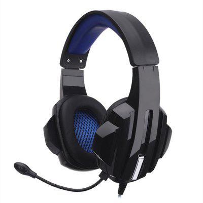 Stereo Gaming Headphone With Microphone LightGaming Headphones<br>Stereo Gaming Headphone With Microphone Light<br><br>Application: Gaming<br>Cable Length (m): 2M<br>Compatible with: PC, Computer<br>Connecting interface: 3.5mm<br>Connectivity: Wired<br>Features: Cool, Active Noise-cancelling, Surround Sound<br>Function: Multi connection function, Noise Cancelling<br>Material: ABS<br>Package Contents: 1 x Headset<br>Package size (L x W x H): 15.00 x 12.00 x 13.00 cm / 5.91 x 4.72 x 5.12 inches<br>Package weight: 0.3000 kg<br>Plug Type: 3.5mm<br>Product size (L x W x H): 10.00 x 8.00 x 7.00 cm / 3.94 x 3.15 x 2.76 inches<br>Product weight: 0.2500 kg<br>Type: On-ear