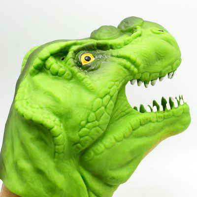 Creative Tyrannosaurus Puppet Hand ToyClassic &amp; Retro Toys<br>Creative Tyrannosaurus Puppet Hand Toy<br><br>Appliable Crowd: Boys, Girls, Unisex<br>Materials: Silicone<br>Nature: Thumb<br>Package Contents: 1 x Hand Puppets Toy<br>Package size: 16.00 x 11.00 x 11.00 cm / 6.3 x 4.33 x 4.33 inches<br>Package weight: 0.2000 kg<br>Product size: 14.50 x 9.50 x 9.50 cm / 5.71 x 3.74 x 3.74 inches<br>Product weight: 0.1240 kg