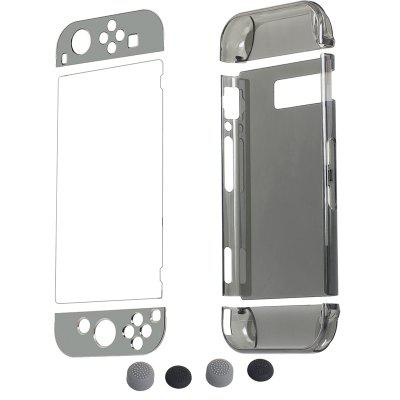 for Nintendo Switch Crystal Transparent Protective ShellGame Accessories<br>for Nintendo Switch Crystal Transparent Protective Shell<br><br>Game Accessories Type: Storage and Cases<br>Package Contents: 1 x Crystal Shell Set, 1 x Tempered Film, 2 x Button Cap<br>Package size: 19.00 x 12.00 x 4.00 cm / 7.48 x 4.72 x 1.57 inches<br>Package weight: 0.1500 kg<br>Product size: 18.00 x 11.00 x 3.20 cm / 7.09 x 4.33 x 1.26 inches<br>Product weight: 0.1300 kg