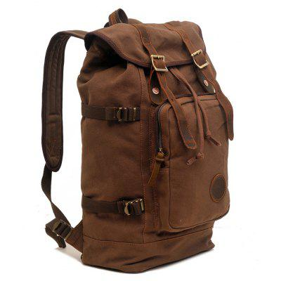 Durable Lightweight Pure Cotton Canvas Backpack Bag with Large Capacity for MenBackpacks<br>Durable Lightweight Pure Cotton Canvas Backpack Bag with Large Capacity for Men<br><br>Backpack Capacity: 21~40L<br>Color: Khaki,Coffee,Army green<br>Features: Foldable<br>For: Traveling, Hiking, Camping, Cycling, Fishing, Climbing<br>Material: Polyester, Canvas<br>Model: 8166<br>Package Contents: 1 x Backpack<br>Package size (L x W x H): 29.00 x 5.00 x 40.00 cm / 11.42 x 1.97 x 15.75 inches<br>Package weight: 1.0300 kg<br>Product size (L x W x H): 29.00 x 16.50 x 48.00 cm / 11.42 x 6.5 x 18.9 inches<br>Product weight: 1.0300 kg<br>Type: Backpack
