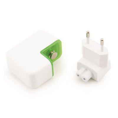 Europe Wall Charger Dual USB European TravelChargers &amp; Cables<br>Europe Wall Charger Dual USB European Travel<br><br>Color: White<br>Compatible Devices: Samsung Mobile Phone, Samsung Tablet<br>Mainly Compatible with: iPhone 5C, iPhone 6, iPhone 5/5S, LG, Samsung Note 5, Galaxy Note 4, GALAXY Mega2, Apple, Xiaomi<br>Package Contents: 1 x The Charger<br>Package size (L x W x H): 6.00 x 6.00 x 5.00 cm / 2.36 x 2.36 x 1.97 inches<br>Package weight: 0.0800 kg<br>Product size (L x W x H): 5.00 x 5.00 x 3.00 cm / 1.97 x 1.97 x 1.18 inches<br>Product weight: 0.0600 kg