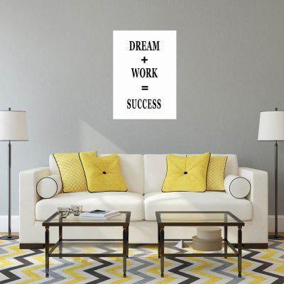W276 Letters Frameless Wall Canvas Prints for Home Office Livingroom DecorationPrints<br>W276 Letters Frameless Wall Canvas Prints for Home Office Livingroom Decoration<br><br>Craft: Print<br>Form: One Panel<br>Material: Canvas<br>Package Contents: 1 x Print<br>Package size (L x W x H): 55.00 x 5.00 x 5.00 cm / 21.65 x 1.97 x 1.97 inches<br>Package weight: 0.0940 kg<br>Painting: Without Inner Frame<br>Product size (L x W x H): 50.00 x 70.00 x 1.00 cm / 19.69 x 27.56 x 0.39 inches<br>Product weight: 0.0870 kg<br>Shape: Vertical<br>Style: Modern Style, Artistic Style<br>Subjects: Letter<br>Suitable Space: Living Room,Bathroom,Bedroom,Dining Room,Office,Hotel,Cafes,Kids Room,Kids Room,Study Room / Office,Boys Room,Girls Room