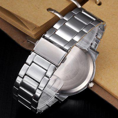 Migeer Vintage Fashion Creative Quartz Stainless Steel Dress WatchMens Watches<br>Migeer Vintage Fashion Creative Quartz Stainless Steel Dress Watch<br><br>Band material: Stainless Steel<br>Band size: 22x2cm<br>Brand: Migeer<br>Case material: Stainless Steel<br>Clasp type: Sheet folding clasp<br>Dial size: 4x4x0.9cm<br>Display type: Analog<br>Movement type: Quartz watch<br>Package Contents: 1 x Watch,1 x Box<br>Package size (L x W x H): 8.00 x 8.00 x 8.00 cm / 3.15 x 3.15 x 3.15 inches<br>Package weight: 0.0600 kg<br>Product size (L x W x H): 22.00 x 4.00 x 0.90 cm / 8.66 x 1.57 x 0.35 inches<br>Product weight: 0.0350 kg<br>Shape of the dial: Round<br>Watch mirror: Mineral glass<br>Watch style: Fashion, Business, Retro, Casual<br>Watches categories: Men
