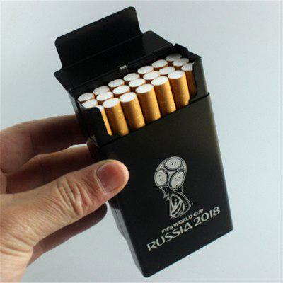 2018 Football Fans Supplies Aluminum Alloy Cigarette CaseVapor Tools<br>2018 Football Fans Supplies Aluminum Alloy Cigarette Case<br><br>Accessories type: Other<br>Material: Zinc Alloy<br>Package Contents: 1 x Cigarette Case<br>Package size (L x W x H): 11.00 x 8.00 x 5.00 cm / 4.33 x 3.15 x 1.97 inches<br>Package weight: 0.0450 kg<br>Product size (L x W x H): 9.00 x 6.00 x 3.00 cm / 3.54 x 2.36 x 1.18 inches<br>Product weight: 0.0400 kg