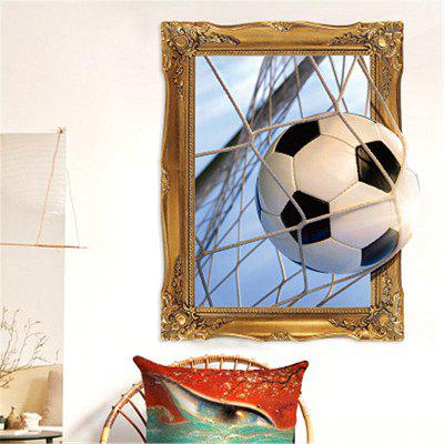 Football Stadium Smashed Wall 3D Effect Wall Stickers DecorationWall Stickers<br>Football Stadium Smashed Wall 3D Effect Wall Stickers Decoration<br><br>Material: Vinyl(PVC)<br>Package Contents: 1 x Wall Sticker<br>Package size (L x W x H): 45.00 x 10.00 x 10.00 cm / 17.72 x 3.94 x 3.94 inches<br>Package weight: 0.0250 kg<br>Product size (L x W x H): 60.00 x 45.00 x 1.00 cm / 23.62 x 17.72 x 0.39 inches<br>Product weight: 0.0200 kg