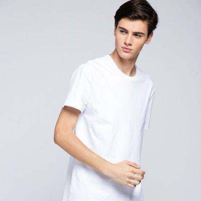 HB MenS Pure Cotton Basic Type T - ShirtMens Short Sleeve Tees<br>HB MenS Pure Cotton Basic Type T - Shirt<br><br>Fabric Type: Cotton<br>Material: Cotton<br>Neckline: Round Collar<br>Package Content: 1 x T-Shirt<br>Package size: 1.00 x 1.00 x 1.00 cm / 0.39 x 0.39 x 0.39 inches<br>Package weight: 0.1400 kg<br>Product weight: 0.1400 kg<br>Season: Autumn<br>Sleeve Length: Short Sleeves<br>Style: Casual