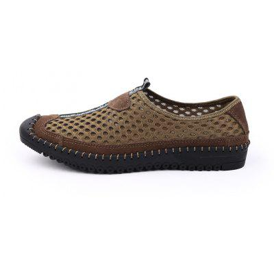 ZEACAVA Mens Casual Breathable Outdoor Mesh ShoesCasual Shoes<br>ZEACAVA Mens Casual Breathable Outdoor Mesh Shoes<br><br>Closure Type: Slip-On<br>Contents: 1 x Pair of Shoes<br>Decoration: Hollow Out<br>Function: Slip Resistant<br>Materials: Cloth, PU<br>Occasion: Casual, Beach, Daily<br>Outsole Material: Rubber<br>Package Size ( L x W x H ): 30.00 x 20.00 x 10.00 cm / 11.81 x 7.87 x 3.94 inches<br>Package weight: 0.4300 kg<br>Product weight: 0.4000 kg<br>Seasons: Spring,Summer<br>Style: Comfortable, Casual<br>Toe Shape: Round Toe<br>Type: Casual Shoes