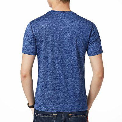 Summer MenS Pure Color Dry T-ShirtMens T-shirts<br>Summer MenS Pure Color Dry T-Shirt<br><br>Collar: Round Neck<br>Material: Polyester, Spandex<br>Package Contents: 1xT-Shirt<br>Pattern Type: Solid<br>Sleeve Length: Short Sleeves<br>Style: Casual<br>Weight: 0.3500kg