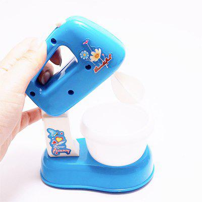 Small Home Appliance Mixer Simulation Play ToysPretend Play<br>Small Home Appliance Mixer Simulation Play Toys<br><br>Age: 3 Years+<br>Applicable gender: Unisex<br>Design Style: Other<br>Features: Others<br>Gender: Unisex<br>Material: Plastic<br>Package Contents: 1 x Agitator<br>Package size (L x W x H): 12.00 x 8.50 x 15.00 cm / 4.72 x 3.35 x 5.91 inches<br>Package weight: 0.4000 kg<br>Product size (L x W x H): 11.50 x 7.00 x 13.00 cm / 4.53 x 2.76 x 5.12 inches<br>Product weight: 0.3500 kg<br>Small Parts: Yes<br>Type: Intelligence toys<br>Washing: Yes