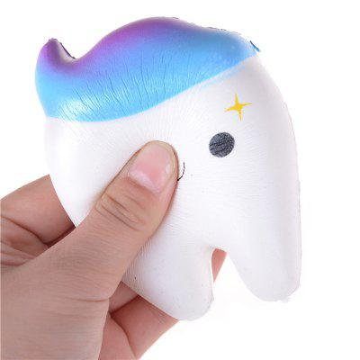 Jumbo Squishy Stretch Kawaii Teeth Bread Slow Rising Kids ToySquishy toys<br>Jumbo Squishy Stretch Kawaii Teeth Bread Slow Rising Kids Toy<br><br>Age Range: &gt; 6 years old<br>Materials: PU<br>Package Content: 1 x Squishy Toy<br>Package Dimension: 11.20 x 8.20 x 6.20 cm / 4.41 x 3.23 x 2.44 inches<br>Pattern Type: Model<br>Product Dimension: 11.00 x 8.00 x 6.00 cm / 4.33 x 3.15 x 2.36 inches<br>Products Type: Squishy Toy<br>Theme: Funny<br>Use: Cabinet Decoration, Refrigerator Paste, Early Education Props, Teaching Equipment, Photography Props, Art &amp; Collectible, Home Decoration, Furniture Display