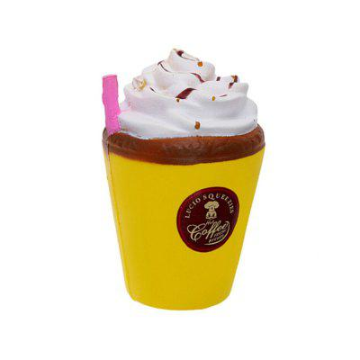 Jumbo Squishy Cute Coffee Cup Soft Slow Rising Cream ScentedNovelty Toys<br>Jumbo Squishy Cute Coffee Cup Soft Slow Rising Cream Scented<br><br>Features: Model<br>Materials: PU<br>Package Contents: 1 x Slow Rebound Toy<br>Package size: 8.00 x 8.00 x 12.00 cm / 3.15 x 3.15 x 4.72 inches<br>Package weight: 0.6000 kg<br>Product size: 7.00 x 7.00 x 11.00 cm / 2.76 x 2.76 x 4.33 inches<br>Product weight: 0.5700 kg<br>Series: Entertainment<br>Theme: Other