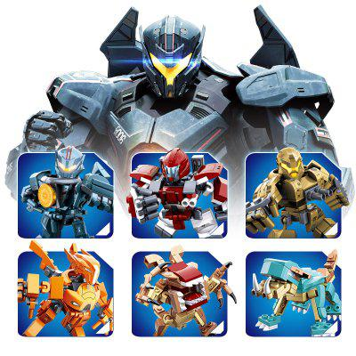 60-77PCS Building Blocks Educational Kids Toy Transformer RobotOther Educational Toys<br>60-77PCS Building Blocks Educational Kids Toy Transformer Robot<br><br>Brand: Sluban<br>Gender: Boys,Girls<br>Materials: ABS, Plastic<br>Package Contents: 1 x Product, 1 x Color Box, 1 x English Instruction Manual<br>Package size: 7.50 x 7.50 x 9.50 cm / 2.95 x 2.95 x 3.74 inches<br>Package weight: 0.2000 kg<br>Product size: 7.50 x 7.50 x 9.50 cm / 2.95 x 2.95 x 3.74 inches<br>Product weight: 0.2000 kg<br>Suitable Age: Adults,Kid<br>Theme: Buildings,Vehicle<br>Type: Construction, Building