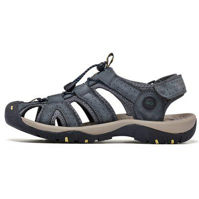 Men Cow Outdoor Fashion Air SandalsMens Sandals<br>Men Cow Outdoor Fashion Air Sandals<br><br>Available Size: 38-45<br>Closure Type: Lace-Up<br>Embellishment: None<br>Gender: For Men<br>Heel Hight: 2<br>Occasion: Casual<br>Outsole Material: Rubber<br>Package Contents: 1xShoes(pair)<br>Pattern Type: Solid<br>Sandals Style: Slides<br>Style: Concise<br>Upper Material: Leather<br>Weight: 1.2000kg