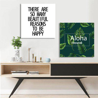 W305 Plants and Letters Unframed Wall Canvas Prints for Home Decorations 2 PCSPrints<br>W305 Plants and Letters Unframed Wall Canvas Prints for Home Decorations 2 PCS<br><br>Craft: Print<br>Form: Two Panels<br>Material: Canvas<br>Package Contents: 2 x Prints<br>Package size (L x W x H): 35.00 x 5.00 x 5.00 cm / 13.78 x 1.97 x 1.97 inches<br>Package weight: 0.0610 kg<br>Painting: Without Inner Frame<br>Product size (L x W x H): 30.00 x 30.00 x 2.00 cm / 11.81 x 11.81 x 0.79 inches<br>Product weight: 0.0560 kg<br>Shape: Square<br>Style: European Style, Artistic Style, Fashion, Novelty<br>Subjects: Botanical<br>Suitable Space: Living Room,Dining Room,Office,Hotel,Cafes