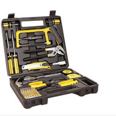 22PCS Of Hardware Combination Tool Box Vehicle Set Kit Group Sets Of ToolsTool Kit<br>22PCS Of Hardware Combination Tool Box Vehicle Set Kit Group Sets Of Tools<br><br>Application: Tablet PC, Aircraft Model, Watch Repair, Carving Tool, Horological Tools, Electrical Tools, Machine Tools, Computer  Tools, Automobile Repairing Tools, Hardware Tool, Motorcycle, Electronic Components<br>Package Contents: 1 x Tool Box<br>Package size (L x W x H): 25.00 x 16.00 x 10.00 cm / 9.84 x 6.3 x 3.94 inches<br>Package weight: 2.5000 kg<br>Product size (L x W x H): 19.50 x 13.50 x 4.00 cm / 7.68 x 5.31 x 1.57 inches<br>Product weight: 2.4000 kg
