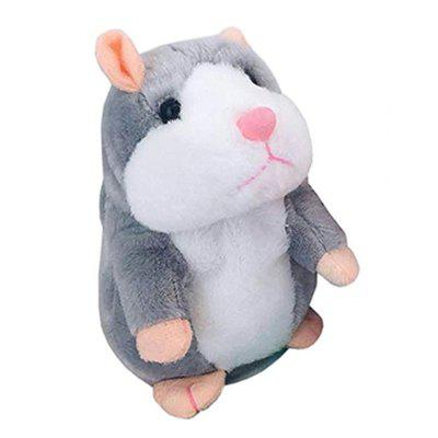 Talking Hamster Pet Plush Toy Repeat What You Say Educational Toy for Children graffiti painting educational diy toy for children