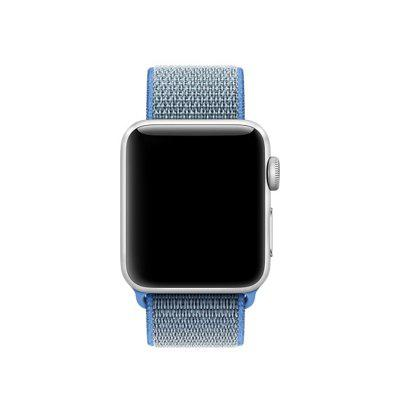 New Nylon Sport Loop with Hook Strap Replacment Band for Iwatch Apple Watch 42MM welly 43635 велли модель машины 1 34 39 bmw 535i