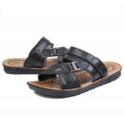 Men Summer Brief Cheap Light SandalsMens Sandals<br>Men Summer Brief Cheap Light Sandals<br><br>Available Size: 40 41 42 43 44<br>Closure Type: Slip-On<br>Embellishment: None<br>Gender: For Men<br>Heel Hight: 2cm<br>Occasion: Casual<br>Outsole Material: Rubber<br>Package Contents: 1?Shoes(pair)<br>Pattern Type: Others<br>Sandals Style: Slides<br>Style: Leisure<br>Upper Material: PU<br>Weight: 1.0200kg