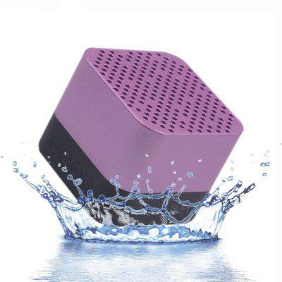 Portable Wireless Outdoor Bluetooth Speaker Enhanced Bass Built-In Mic IPX6Speakers<br>Portable Wireless Outdoor Bluetooth Speaker Enhanced Bass Built-In Mic IPX6<br><br>Audio File Format: MP3<br>Audio Source: SD card,TF/Micro SD Card,Electronic Products with 3.5mm Plug,Bluetooth Enabled Devices<br>Battery Brand: PC<br>Battery Capacity: 300mAh<br>Battery Current: 500mA<br>Battery Type: Lithium ion battery<br>Battery Voltage: 3.7V<br>Bluetooth Version: Bluetooth 4.1<br>Charging Time: 2-3Hours<br>Color: Rose Gold,Silver,Gray,Golden<br>Compatible with: Mobile phone, TF/Micro SD Card, PSP, XiaoMi Mi TV Mainboard, PC, iPhone, Computer, iPod, Tablet PC, TV, MP3, Laptop, XiaoMi Mi TV 3<br>Connection: Wireless<br>Design: Multifunctional, Cool, Portable<br>Features: Subwoofer<br>Functions: Songs Track, Auto Shutdown, AUX Function, Stereo, Waterproof<br>Interface: 3.5mm Audio, TF Card Slot, SD Card Slot<br>Material: Electronic Components, Plastic<br>Package Contents: 1 x Bluetooth Speaker, 1 x USB Charging Cable, 1 X User Manual<br>Package size (L x W x H): 6.00 x 6.00 x 6.10 cm / 2.36 x 2.36 x 2.4 inches<br>Package weight: 0.1700 kg<br>Power Output: 3W<br>Product size (L x W x H): 5.90 x 5.90 x 4.90 cm / 2.32 x 2.32 x 1.93 inches<br>Product weight: 0.1450 kg<br>Supports: Waterproof, FM, Bluetooth, Microphone, Loudspeaker, Hands-free Calls, TF Card Music Playing, SD Card Music Playing<br>Usage: Bedroom, Travel, House, Room, Bookshelf<br>Working Time: 6hours