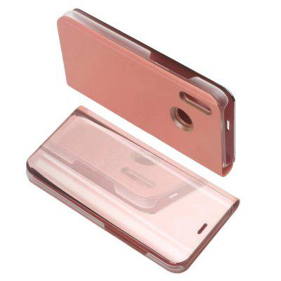 for Huawei P20 Lite Case Luxury Flip Stand Clear View Smart Mirror Phone Cover luxury stand flip