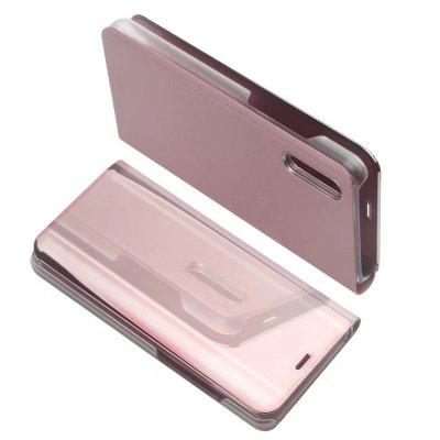 for Huawei P20 Case Luxury Flip Stand Clear View Smart Mirror Phone Cover luxury stand flip