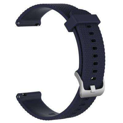 Large Size Soft Silicone Replacement Watch Band for Garmin VivoActive 3Smart Watch Accessories<br>Large Size Soft Silicone Replacement Watch Band for Garmin VivoActive 3<br><br>Material: Stainless Steel, Silicon<br>Package Contents: 1 x Watch Band With Adapter<br>Package size: 23.00 x 3.00 x 1.00 cm / 9.06 x 1.18 x 0.39 inches<br>Package weight: 0.0160 kg<br>Product size: 21.00 x 2.50 x 1.00 cm / 8.27 x 0.98 x 0.39 inches<br>Product weight: 0.0150 kg