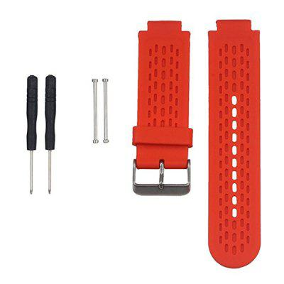 Silicone Wrist Band Strap and Tools Kit for Garmin Approach S2/S4  VivoactiveSmart Watch Accessories<br>Silicone Wrist Band Strap and Tools Kit for Garmin Approach S2/S4  Vivoactive<br><br>Package Contents: 1 x Watch Band , 2 x Adapter , 2 x Tool<br>Package size: 22.00 x 3.00 x 1.00 cm / 8.66 x 1.18 x 0.39 inches<br>Package weight: 0.0180 kg<br>Product size: 19.00 x 2.50 x 1.00 cm / 7.48 x 0.98 x 0.39 inches<br>Product weight: 0.0160 kg