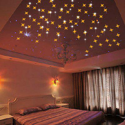 50 PCS Creative Star Wall Sticker Ceiling Living Room Gypsophila DecorationWall Stickers<br>50 PCS Creative Star Wall Sticker Ceiling Living Room Gypsophila Decoration<br><br>Function: Decorative Wall Sticker<br>Material: Vinyl(PVC)<br>Package Contents: 1 x Set of  Wall Sticker<br>Package size (L x W x H): 10.00 x 8.00 x 1.00 cm / 3.94 x 3.15 x 0.39 inches<br>Package weight: 0.0800 kg<br>Product size (L x W x H): 5.00 x 5.00 x 0.10 cm / 1.97 x 1.97 x 0.04 inches<br>Product weight: 0.0700 kg<br>Quantity: 1 Set<br>Subjects: Fashion,Leisure,Flower,Fantasy<br>Suitable Space: Living Room,Bathroom,Bedroom,Dining Room,Hotel,Cafes,Kids Room<br>Type: 3D Wall Sticker, Plane Wall Sticker