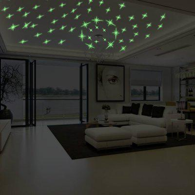 3D  Star Kids Room Decor Luminous Wall StickerWall Stickers<br>3D  Star Kids Room Decor Luminous Wall Sticker<br><br>Function: Decorative Wall Sticker<br>Material: Vinyl(PVC)<br>Package Contents: 1 x Wall Sticker<br>Package size (L x W x H): 21.00 x 3.00 x 3.00 cm / 8.27 x 1.18 x 1.18 inches<br>Package weight: 0.0600 kg<br>Product size (L x W x H): 30.00 x 21.00 x 0.10 cm / 11.81 x 8.27 x 0.04 inches<br>Product weight: 0.0500 kg<br>Quantity: 1<br>Subjects: Fashion,Leisure,Holiday,Abstract,Flower<br>Suitable Space: Living Room,Bathroom,Bedroom,Dining Room,Office,Hotel,Cafes,Kids Room<br>Type: Plane Wall Sticker